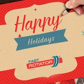 The Fastrotator team wishes everyone a Happy Holidays!